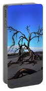A Tree In An Arid Land Portable Battery Charger