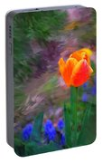 A Tulip Stands Alone Portable Battery Charger