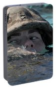 A U.s. Marine Swims Across A Training Portable Battery Charger