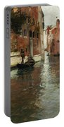 A Venetian Backwater  Portable Battery Charger by Fritz Thaulow