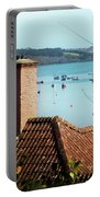 A View Of Mylor Harbour Portable Battery Charger