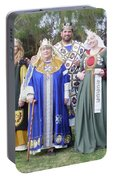 A Visit With Royalty Portable Battery Charger