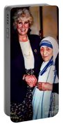 A Vist With Mother Teresa Portable Battery Charger