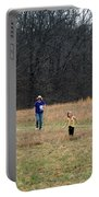 A Walk In A Field Portable Battery Charger