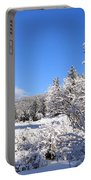 A Walk In The Snow Portable Battery Charger
