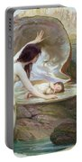 A Water Baby Portable Battery Charger by Herbert James Draper