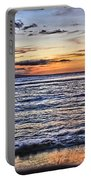 A Western Maui Sunset Portable Battery Charger
