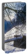 A Winter Walk In The Black Forest Portable Battery Charger
