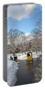 A Winter's Day Portable Battery Charger
