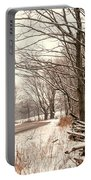 A Winter's Walk Portable Battery Charger