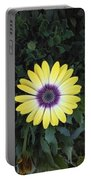 A Yellow Daisy Exhibit Portable Battery Charger
