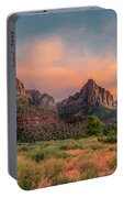 A Zion Sunset Portable Battery Charger