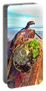 Abalone On Saddle Portable Battery Charger