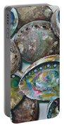 Abalone Shells Portable Battery Charger