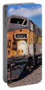 Abandoned Bessemer And Lake Erie Trains Schellville California Portable Battery Charger