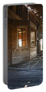Abandoned Grain Elevator Drive Through Portable Battery Charger