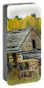 Abandoned Mine In Autumn Portable Battery Charger