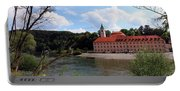 Abbey Weltenburg And Danube River Portable Battery Charger