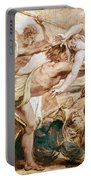 Abduction Of Hippodamia Portable Battery Charger