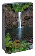Abiqua Falls In Summer Portable Battery Charger
