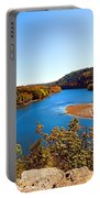 Above The Housatonic Portable Battery Charger