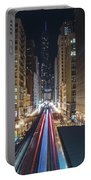 Above The Loop Towards The Trump Tower Portable Battery Charger
