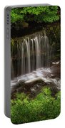 Above The Sgwd Isaf Clun-gwyn Waterfall Portable Battery Charger