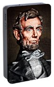 Abraham Lincoln Portable Battery Charger
