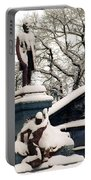 Abraham Lincoln Memorial Scotland Winter Portable Battery Charger