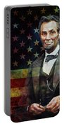Abraham Lincoln The President  Portable Battery Charger