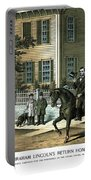 Abraham Lincoln's Return Home Portable Battery Charger