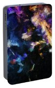 Abstract 134 Digital Oil Painting On Canvas Full Of Texture And Brig Portable Battery Charger