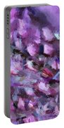 Abstract 91 Digital Oil Painting On Canvas Full Of Texture And Brig Portable Battery Charger