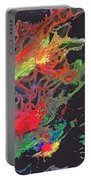 Abstract Andromeda Portable Battery Charger