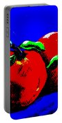Abstract Apples Portable Battery Charger