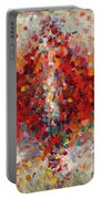 Abstract Art Eighteen Portable Battery Charger