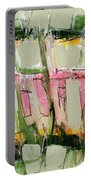Abstract Art Fifty-six Portable Battery Charger