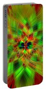 Abstract Art IIi Portable Battery Charger