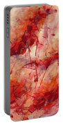 Abstract Art Nineteen Portable Battery Charger