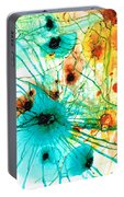 Abstract Art - Possibilities - Sharon Cummings Portable Battery Charger