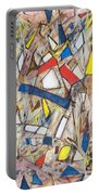 Abstract Art Seven Portable Battery Charger