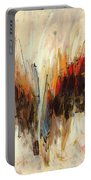 Abstract Art Twenty-one Portable Battery Charger