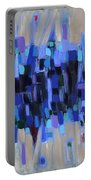 Abstract Art Twenty-three Portable Battery Charger