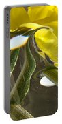 Abstract Artwork Daffodils Flowers 1 Natural Abstract Art Prints Glass Vase Water Art Light Air Portable Battery Charger