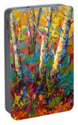 Abstract Autumn II Portable Battery Charger
