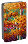 Abstract Autumn IIi Portable Battery Charger