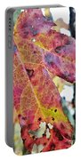 Abstract Autumn Leaf 2 Portable Battery Charger