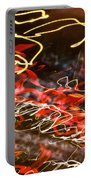 Abstract Berlin Wall 6 Portable Battery Charger