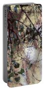 Abstract Birch Portable Battery Charger