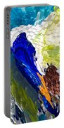 Abstract Bird Portable Battery Charger